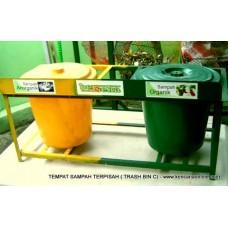 Tempat Sampah Terpilah (TST) BerSeka® Trash Bin [C]